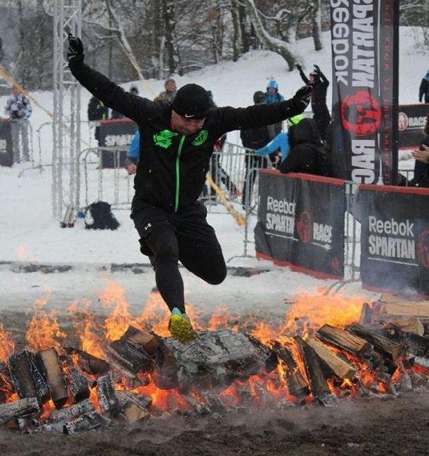 Zdjęcie ubezpieczenie turystyczne sportów ekstremalnych, bieg zimowy Spartan Race. blog_22.07.2017